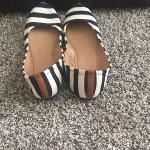 Mossimo Supply Co. Shoes - Striped flats.